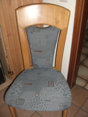 Beziehen stuhlrücken neu Lehne Beziehen