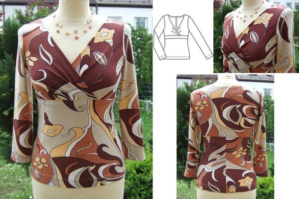 Shirt nach Burda 05/09 Modell 103