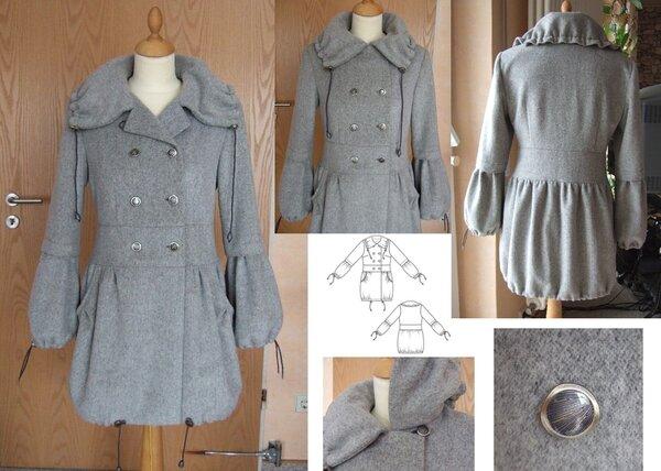 "wintertauglicher ""Parka"" Burda Fashion Line 501D"