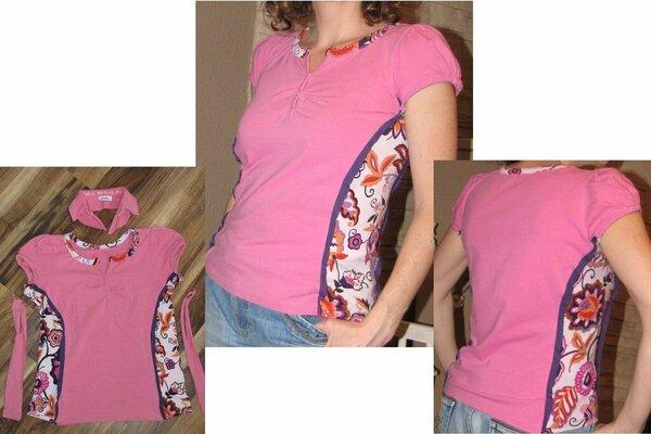 Shirt erweitert - Recycling oder Upcycling?