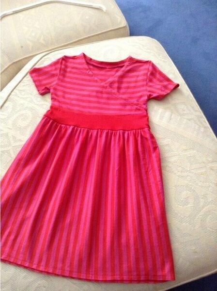 Kleid Martha mit gekräuseltem Rock von Zierstoff