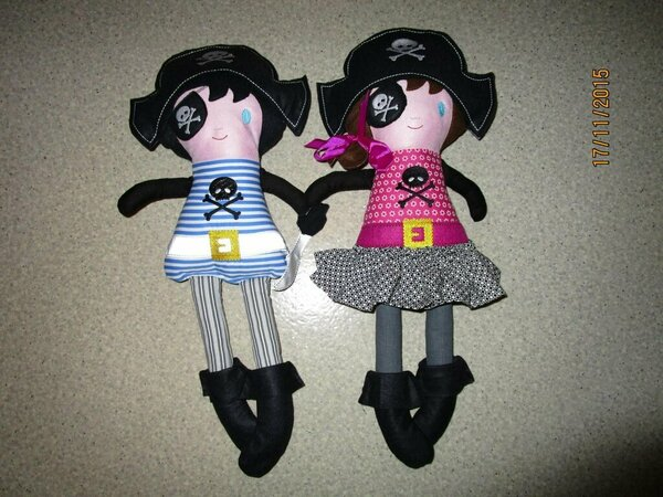 Pirat und Piratin