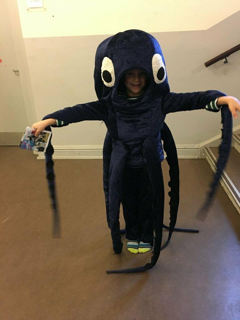Oktopus-Kostüm aus burda 01/2011
