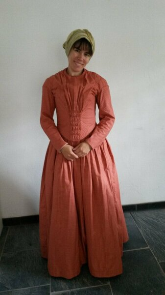 German Daydress 1845 Past Patterns