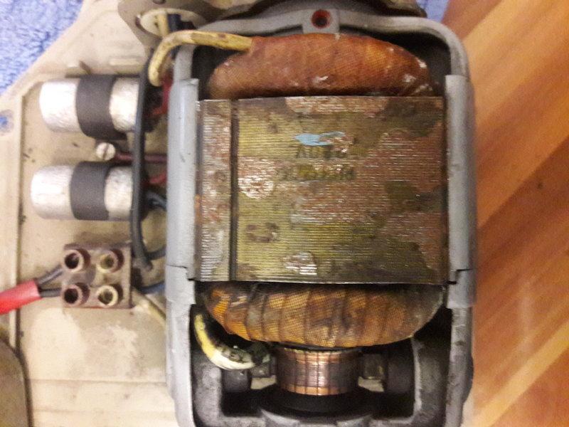 AC motor kondensator orgie