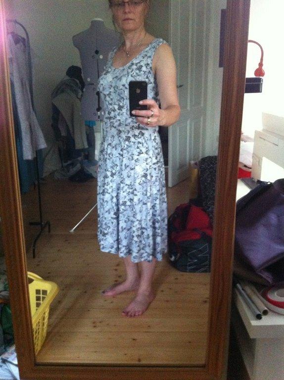 Tunic-Dress Alabama Chanin stoffmarkt