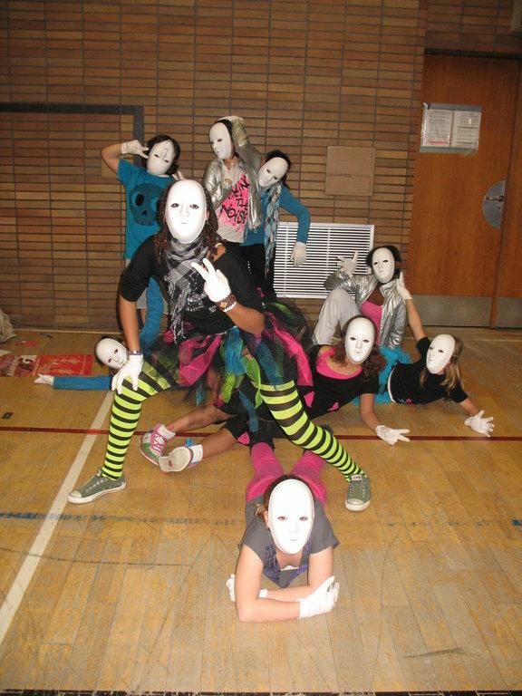 Nähprojekt Tanzgruppe