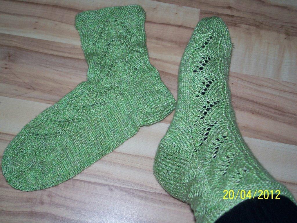 Lily of the Valley Socken,Gr.40, Motivationsstricken März/April 2012