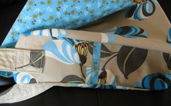 Schultertasch Seitentasche
