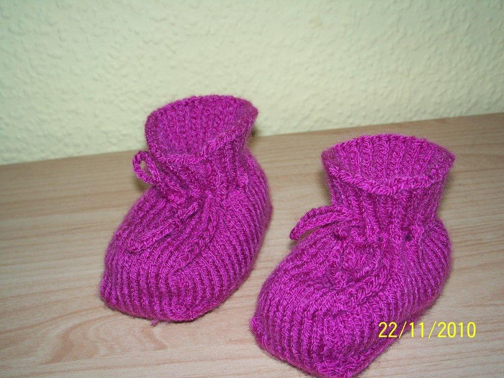 Babyschuhe pink