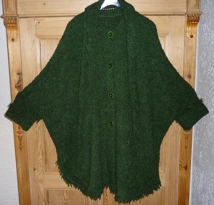 hier ist die grüne Wolljacke noch einmal besser zu sehen