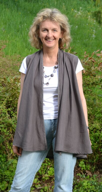 Burda Weste Mod. 101 aus 4/2012