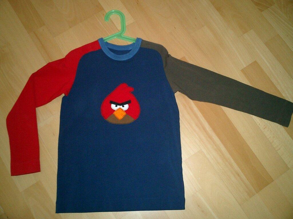 Angry-Bird-Shirt Nr. 1
