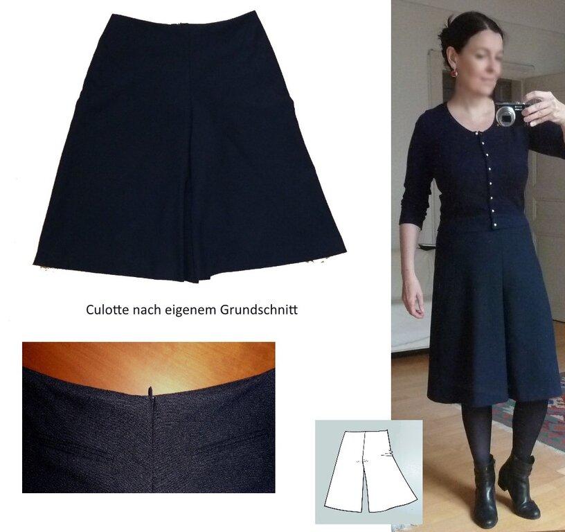 Hosenrock oder Culotte