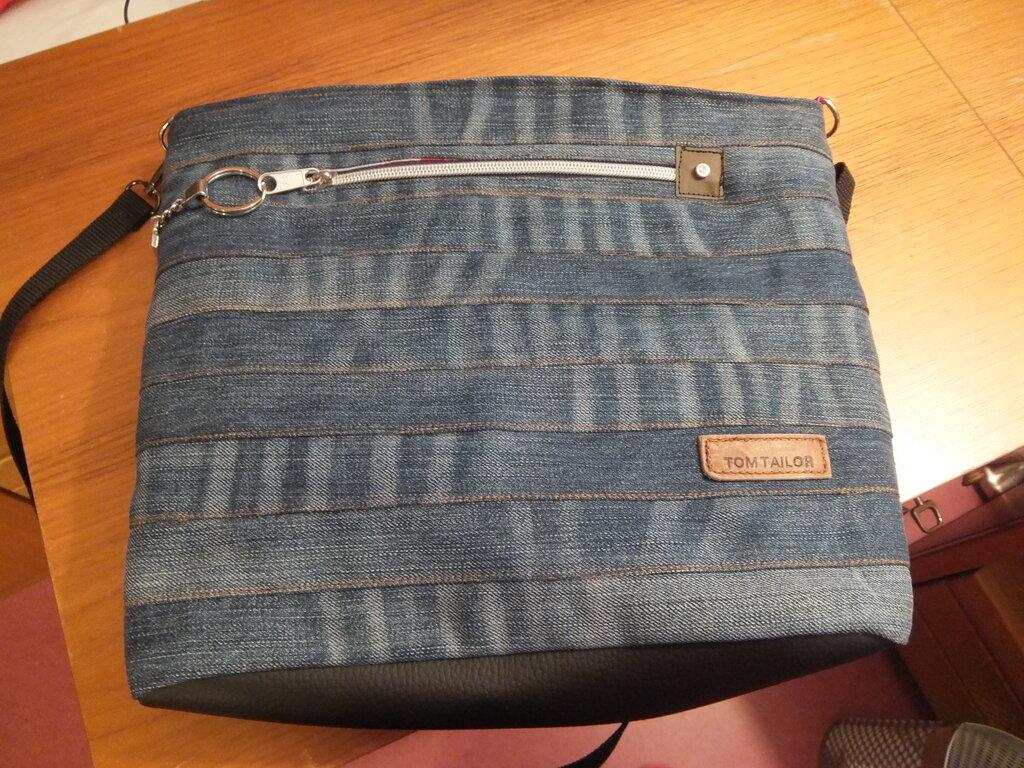 Chobe Bag aus alter Jeans