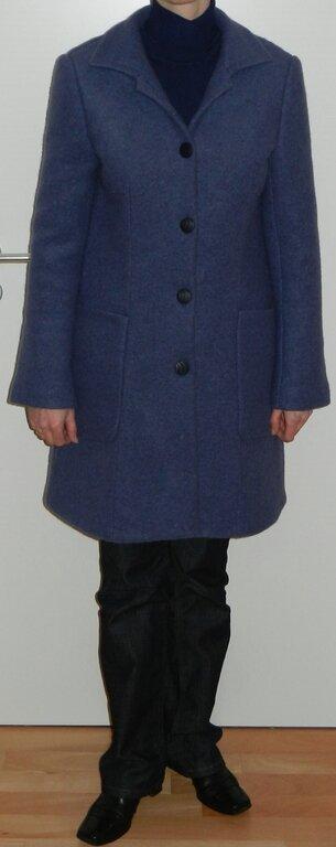 Kurzmantel Mod. 110 aus Burda 01/2011