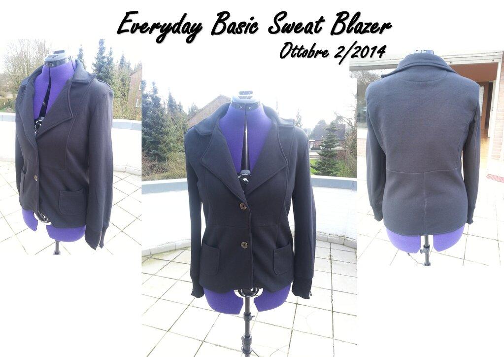 Everyday Basic Sweat Blazer - Ottobre 2/2014