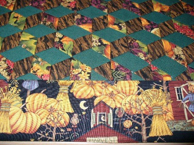 Ausschnitt-Herbsttischdecke