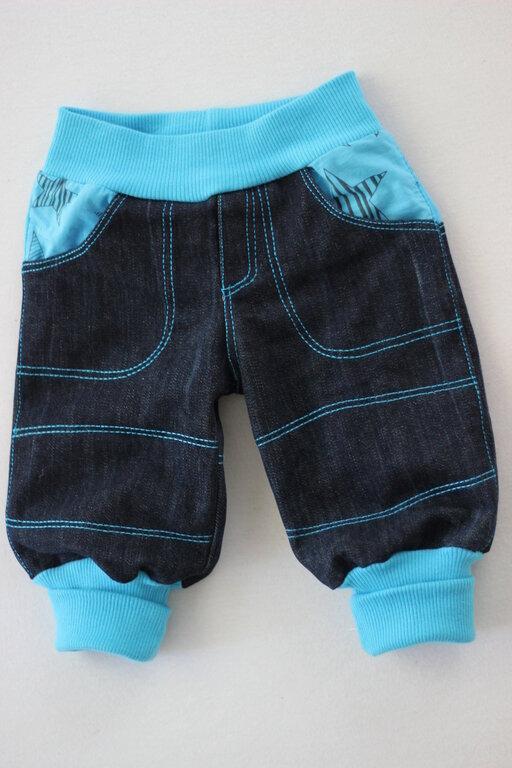 Pumphose aus alter Jeans