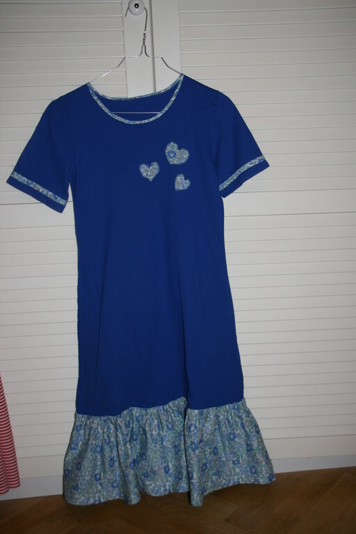 T-Shirt Kleid Gr. 164