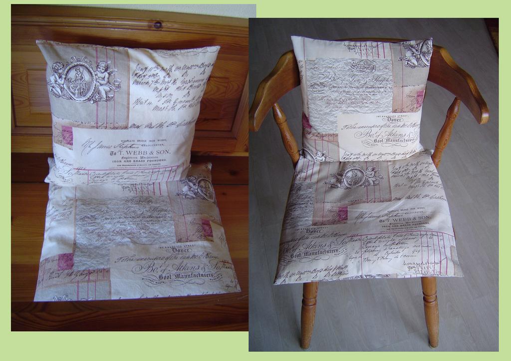 Kissen für Eckbank und Stühle