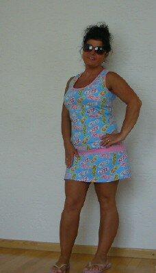 Flip Flop Kleidchen