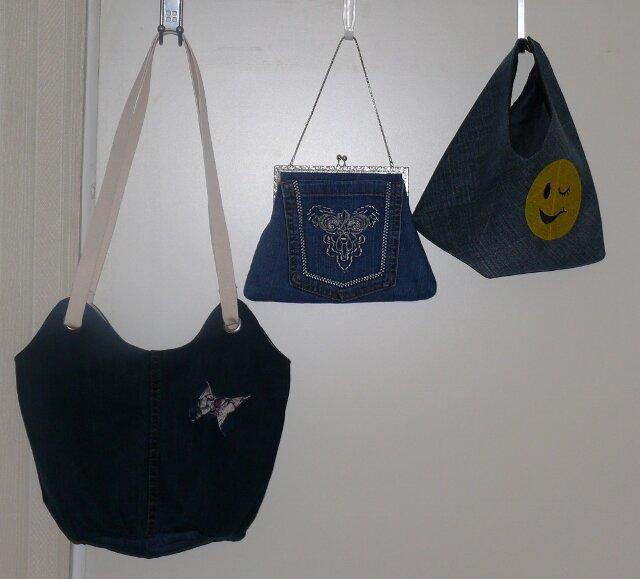 Taschen aus alten Jeans