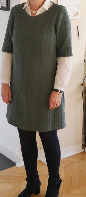 Kleid/ Tunika 120B aus Burda 12/2015 Gr. 42