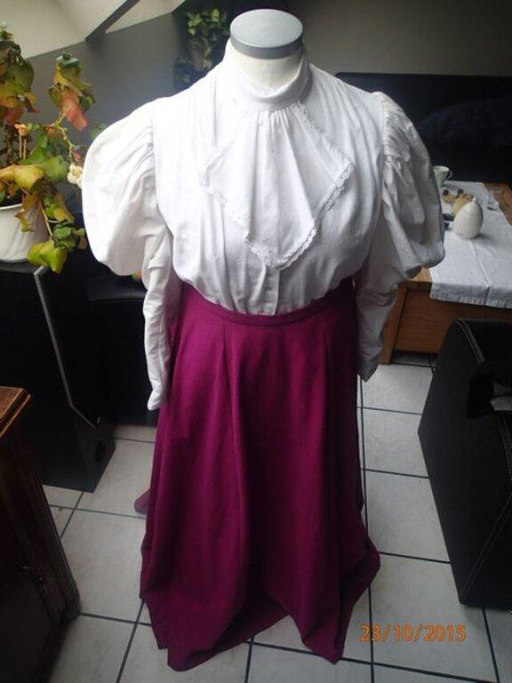 Kostüm , historisches Cape , Belle Epoque