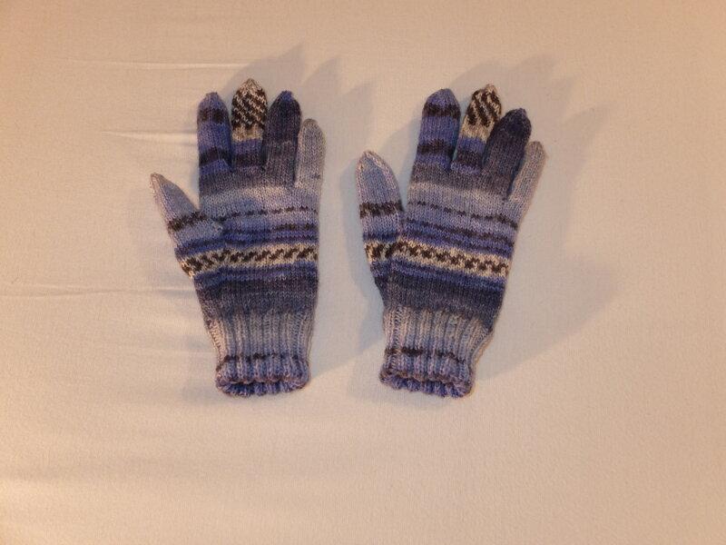 Fingerhandschuhe - Paar Nr 2