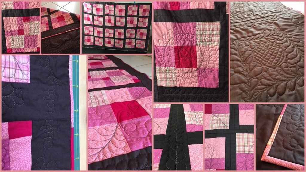 """Quilt """"chocolate & candy"""""""