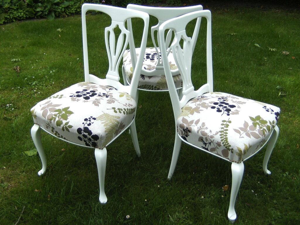 Metamorfose von Stühlen