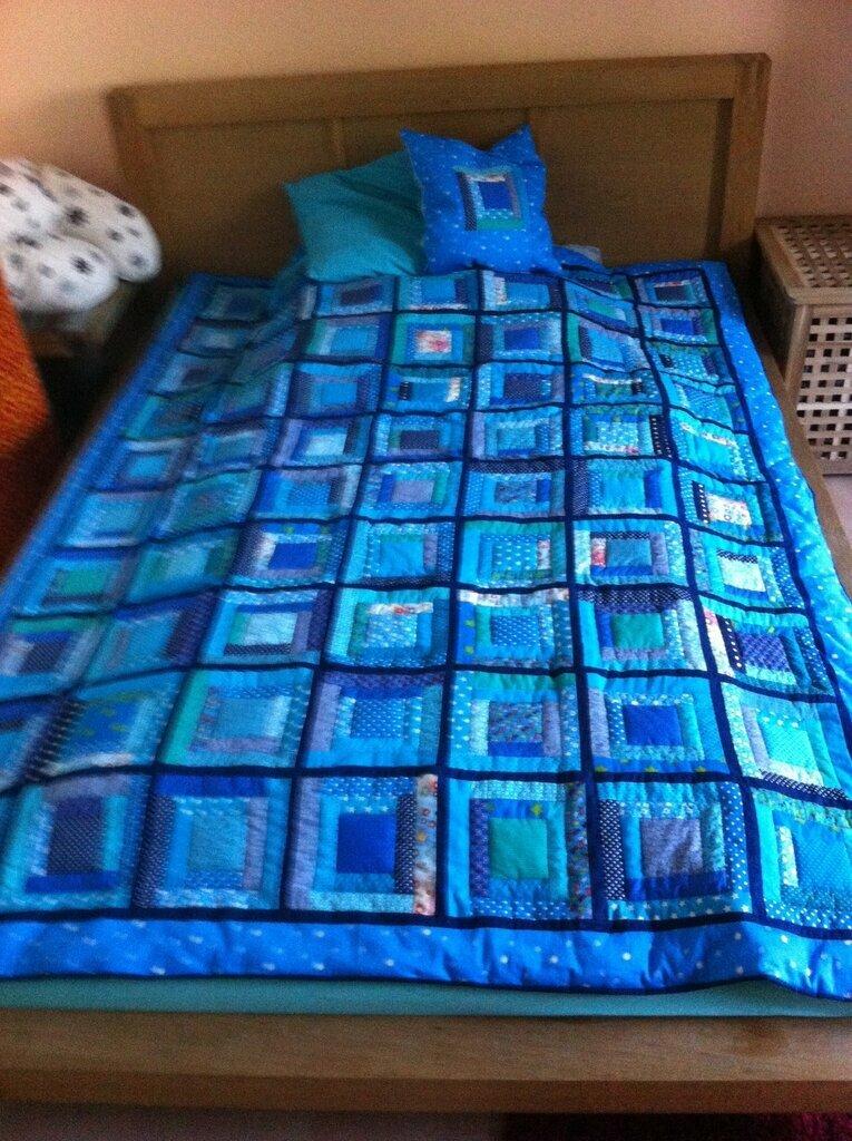Mein 1. wirklicher Quilt
