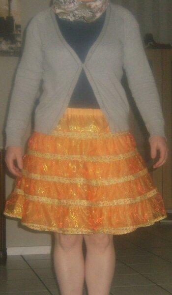 dreilagiger Petticoat