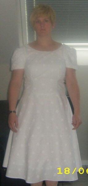 Kleid im 60er Jahre Stil