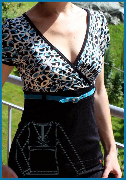 Shirt Burda 05/2009