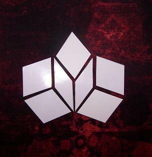 """Penrose tiles"" die benötigten Schablonen"
