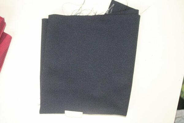 dunkelblau, vermutl. keine BW- 0,35x0,45m