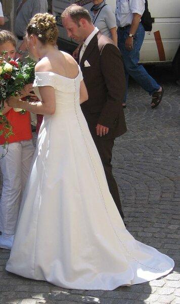Brautkleid hinten