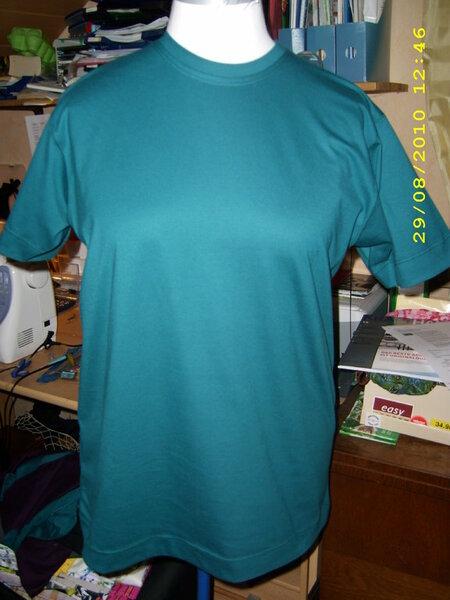 T-Shirt uni Stoff Trigema