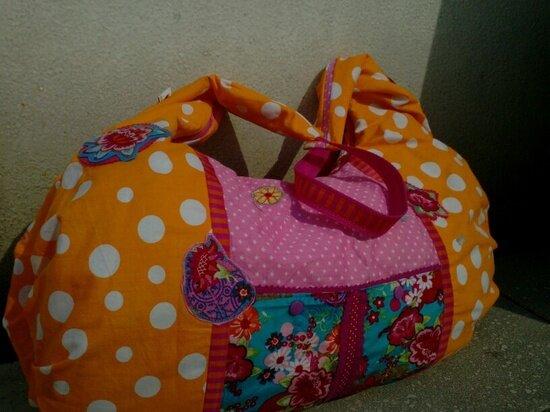 Andere Seite der AS Faltentasche