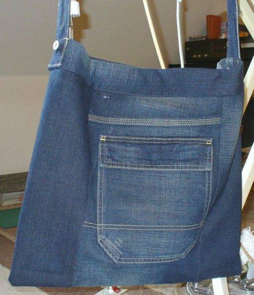 Tasche aus alter Jeanshose1