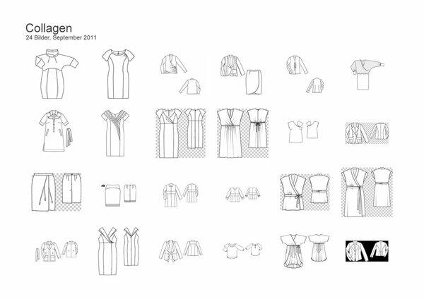 Nähplan Technische Zeichnungen