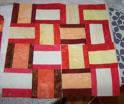 """Kissenplatte Muster """"Sparkling Gemstones"""" 12 Stück in Arbeit für caritative Zwecke"""