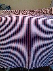 Streifen rotblauweiss