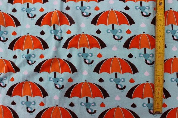 K2: Lillestoff Jersey Rainy Mouse Eigentümer: littlelursa Reservierung: ToniMama 82 x 44 => 0,36 m² Tauschfaktor 150%  Tauschwert 0,54 m²