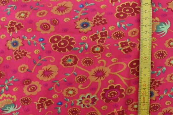 H19: Jersey Blumen himbeer Eigentümer: Stefanie85 160 x 90 => 1,44 m²