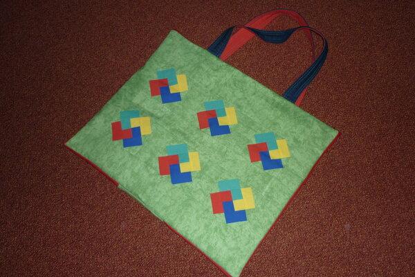 patchworktasche außen