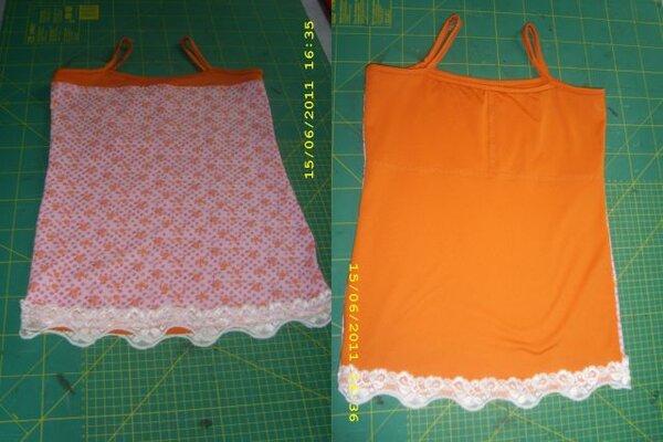 Schnitt Lea von Mamu-Design in Gr. 32/34. Hier die Top Version. Genäht ist das Shirt aus Jerseyresten. Da man nicht viel Stoff benötigt, werden so auch kleinere Mengen aufgebraucht.