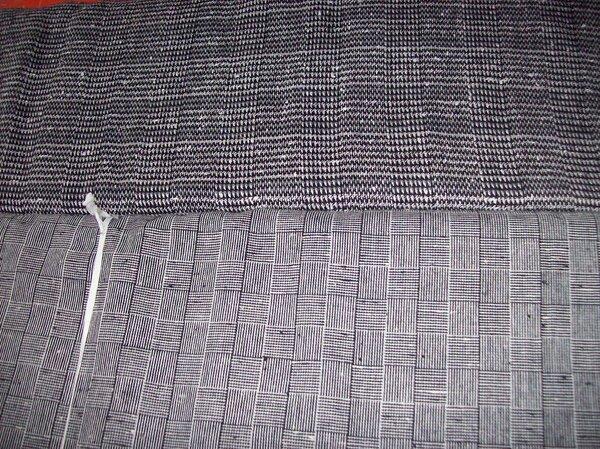 Wollmischung grob 2,50m x 1,50m fein 5,50m x 1,50m
